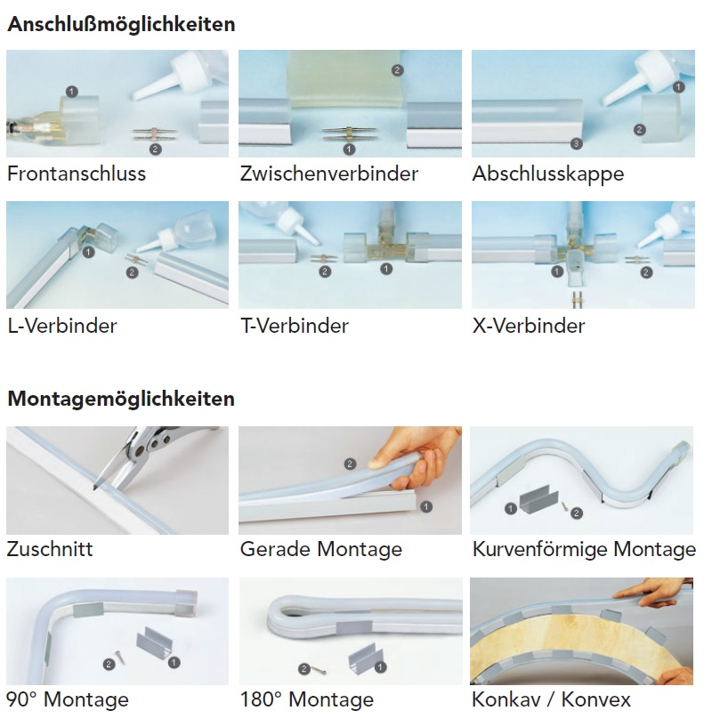 LED Montageanleitung