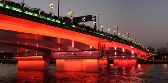 Guangzhou Asian Games——Ten of the Pearl River Bridge